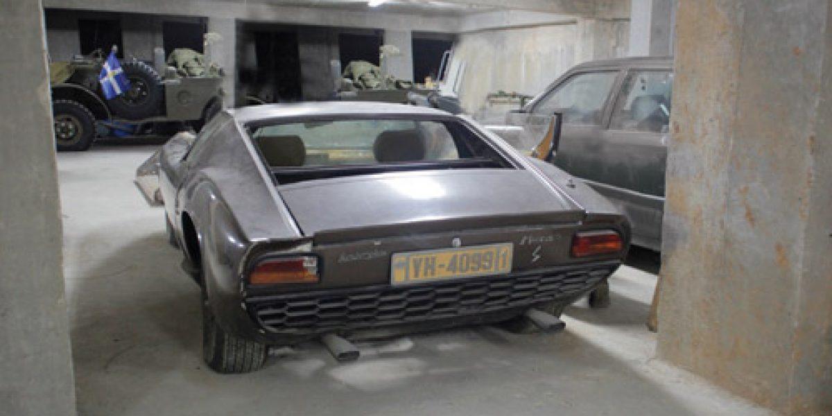 El Lamborghini Miura S de Onassis que será vendido hoy