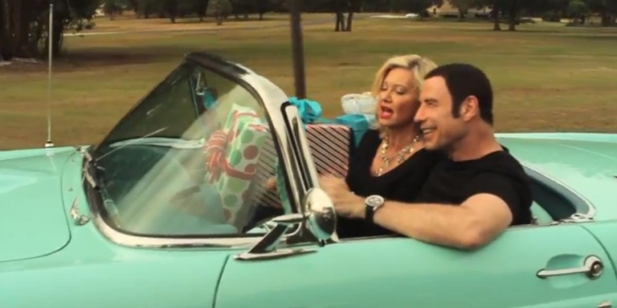 John Travolta y Olivia Newton-John estrenan nueva canción juntos, 34 años después de Grease
