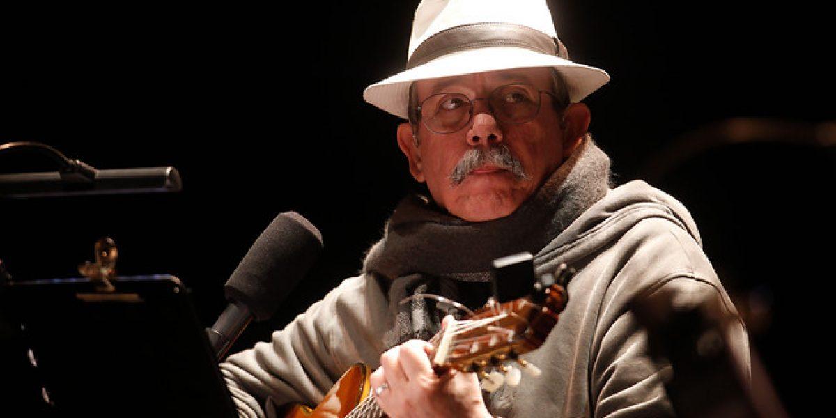 Así luce Silvio Rodríguez en su regreso a Chile