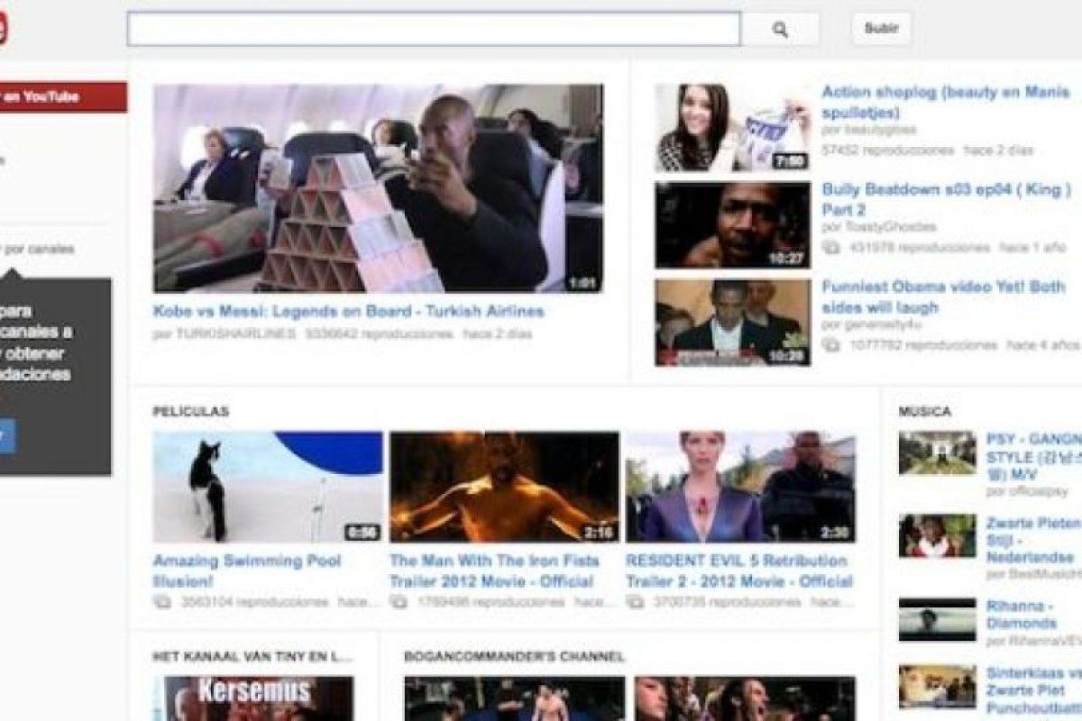2. YouTube. Imagen Por: