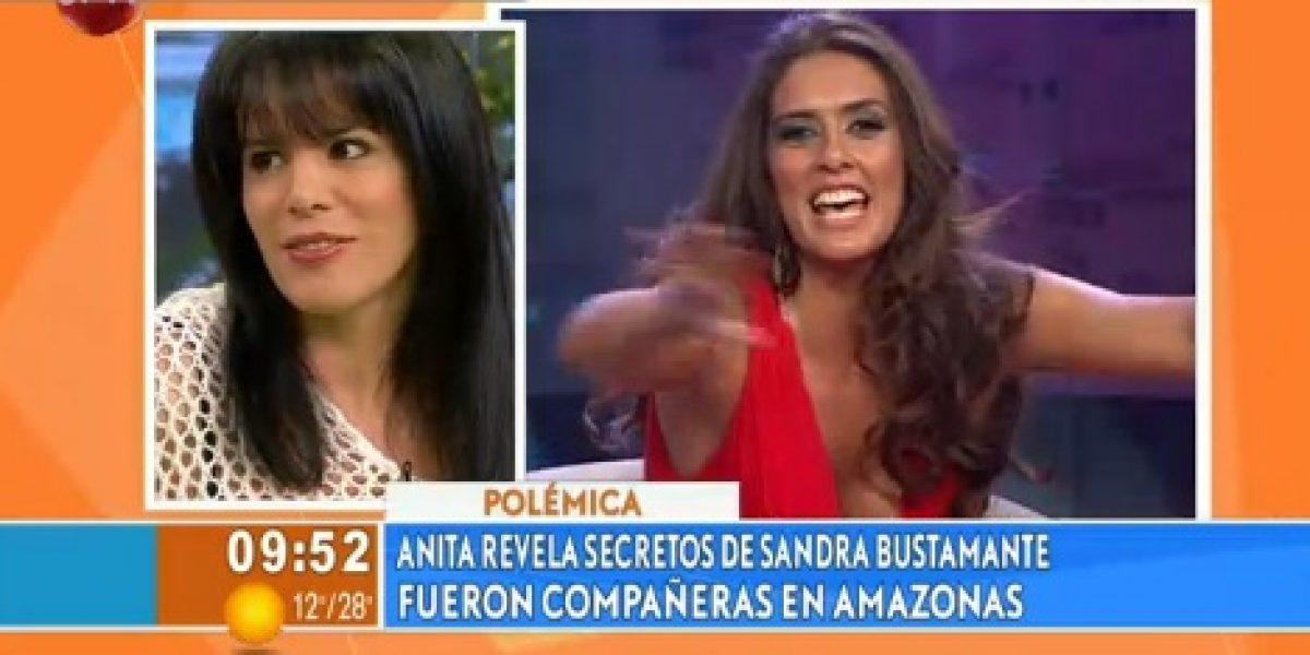 Anita Alvarado asegura que Sandra Bustamante es capaz de todo por ser conocida
