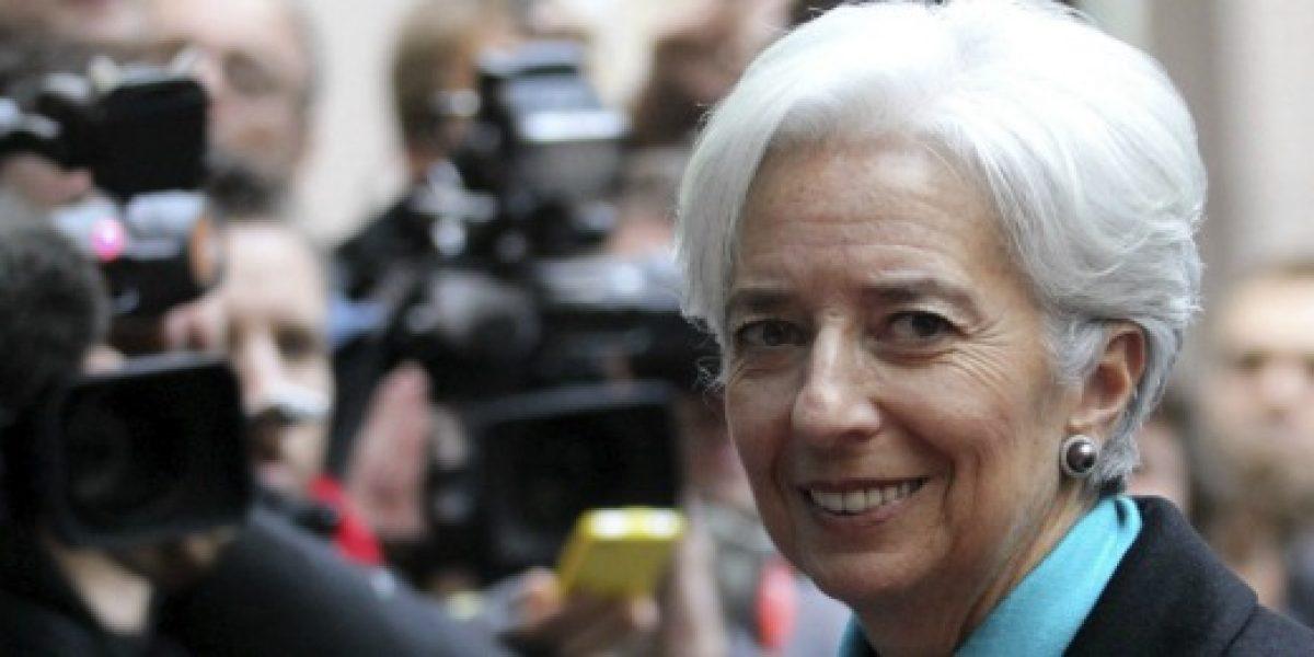 Lagarde se reúne con empresarios de pymes en inicio de su visita a Colombia