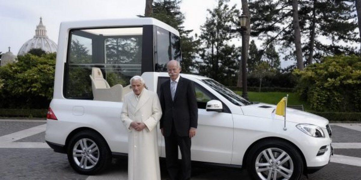 FOTOS: Ahora sí que el Papamóvil se moverá rápido