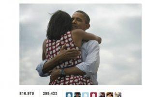 """Barack Obama consiguió el tuit """"más relevante"""" de 2012 y de la historia de la red social. El """"Four more years"""" (""""Cuatro años más"""") del presidente de EE UU, escrito la noche de su reelección, se reenvió más de 810.000 veces por personas de más de 200 países.. Imagen Por:"""