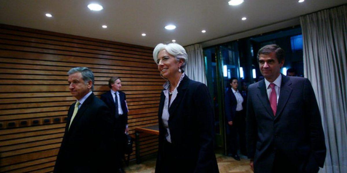 [FOTOS] Directora del Fondo Monetario Internacional está en Chile