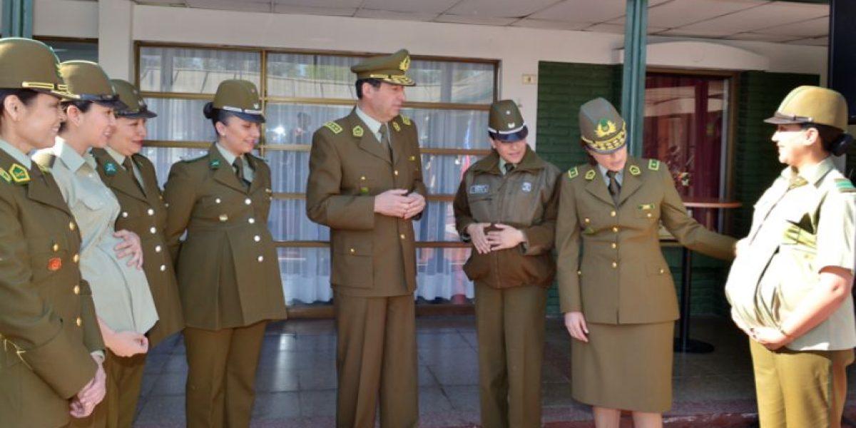 FOTOS: Debutan los uniformes para carabineras