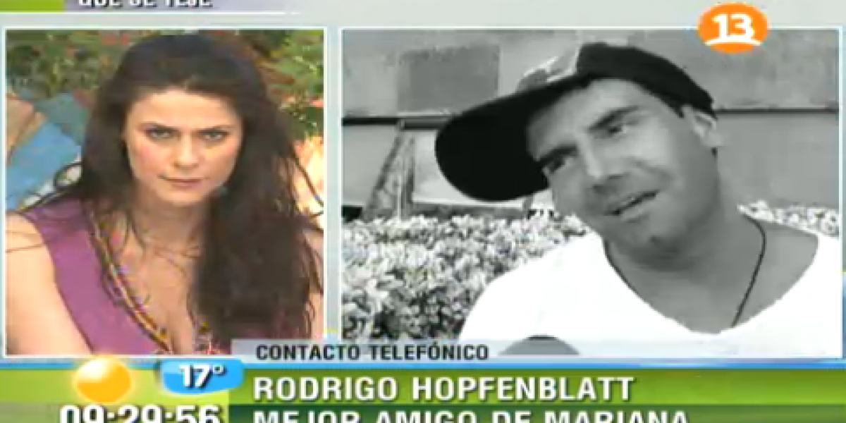 Mejor amigo de Mariana Marino involucra a Sandra Bustamante en filtración