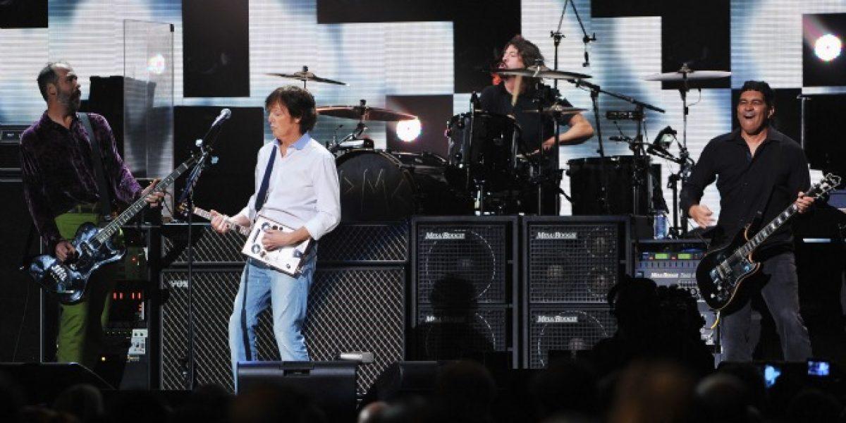 Courtney Love furiosa por reunión de Nirvana con Paul McCartney