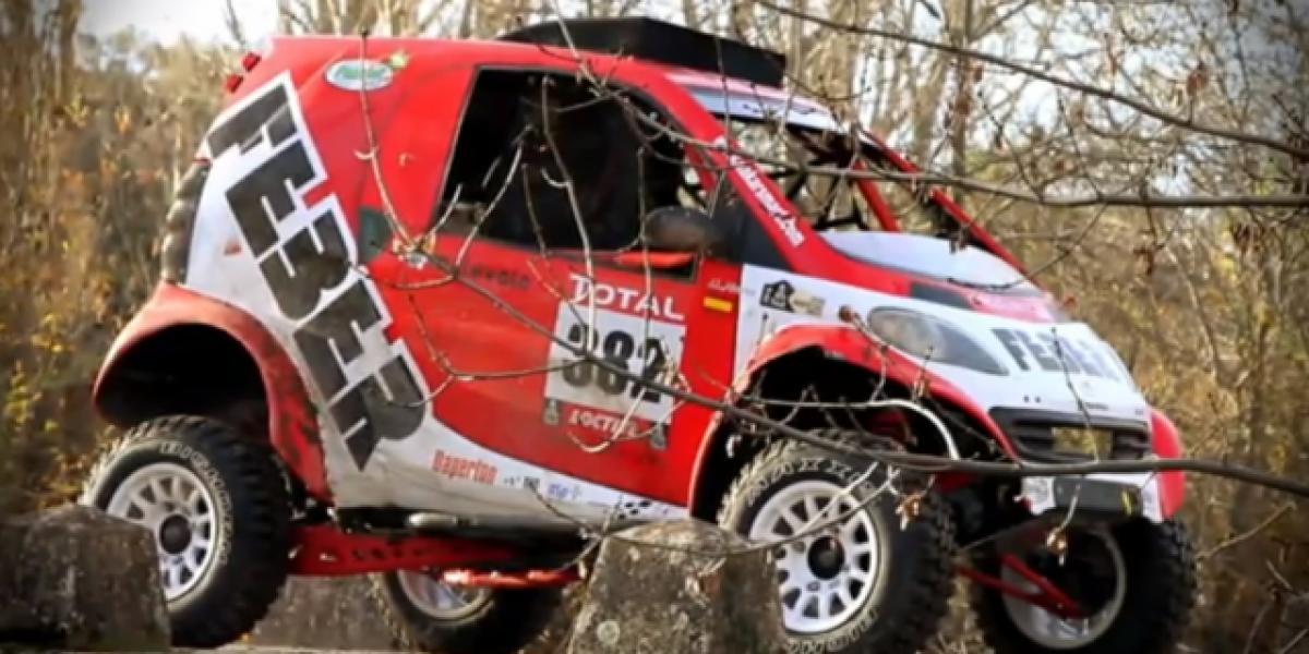 El primer Smart que correrá el Dakar
