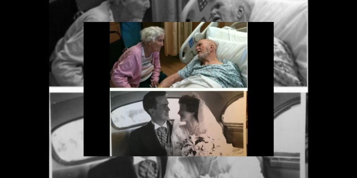 Esta conmovedora fotografía de pareja de ancianos revoluciona a las redes sociales