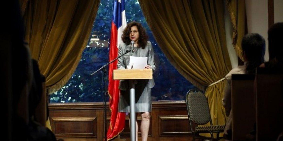 Emotivo acto de desagravio a jueza Karen Atala por parte del Estado