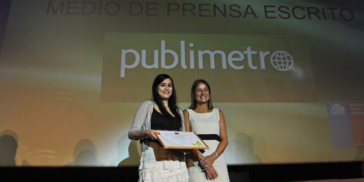 Publimetro recibe premio del Ministerio de Medio Ambiente
