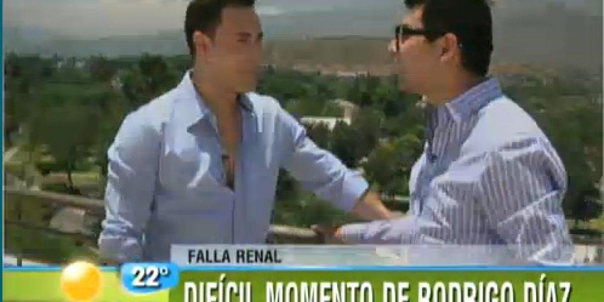 Rodrigo Díaz tras su salida de la clínica: