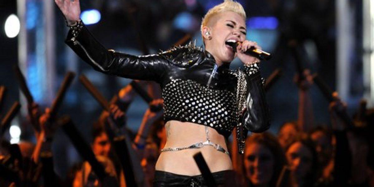Miley Cyrus brilla en evento