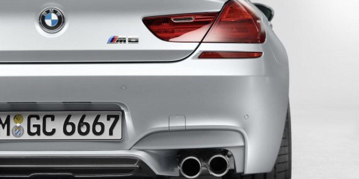 Este es el nuevo BMW M6 Grand Coupé
