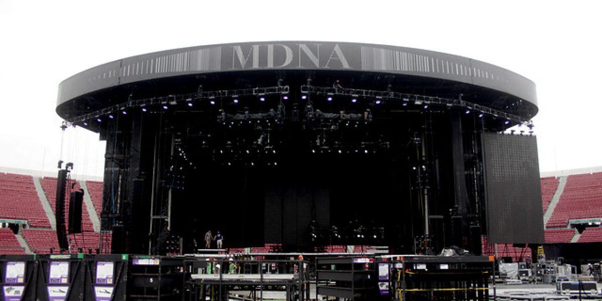 [FOTOS] Madonna se presentará en este imponente escenario