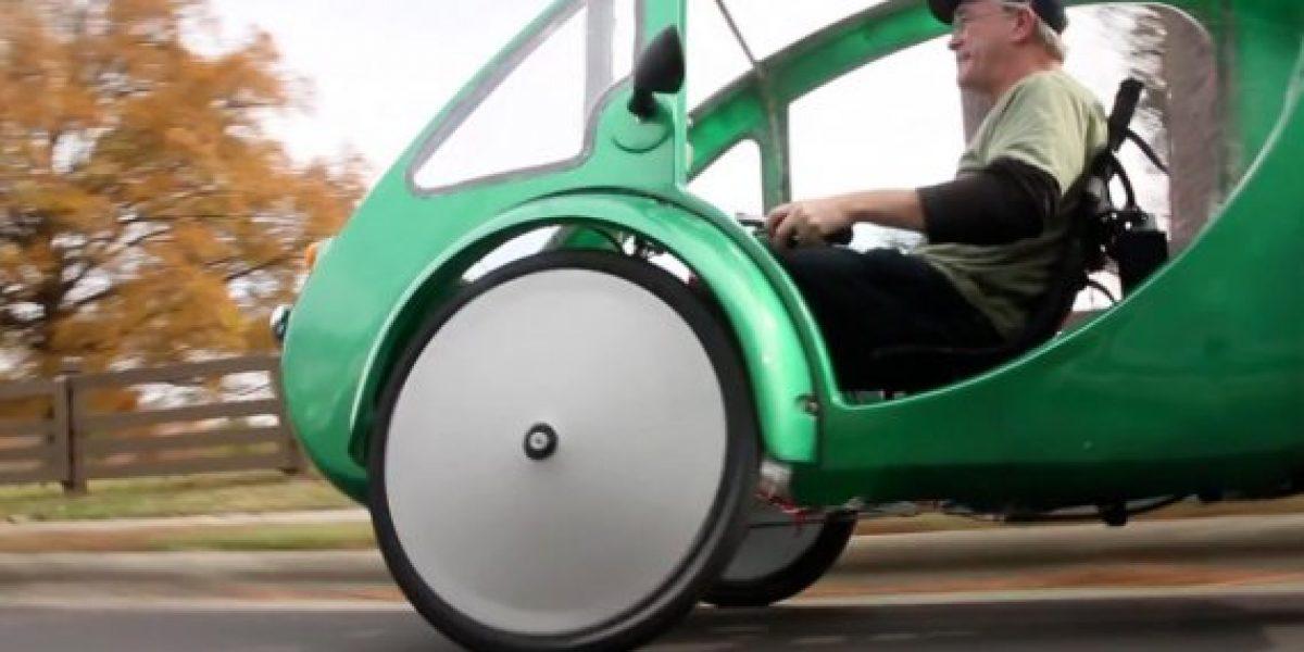 ELF, la bicicleta-auto propulsada por energía solar