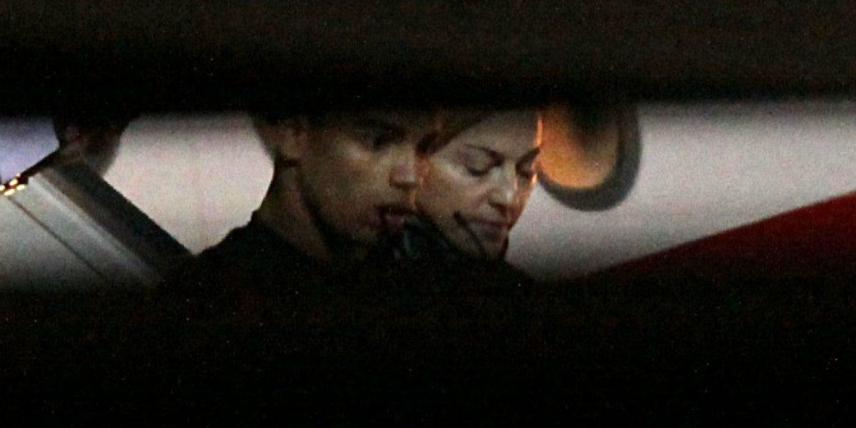 Madonna ya está en Chile y llegó junto a su
