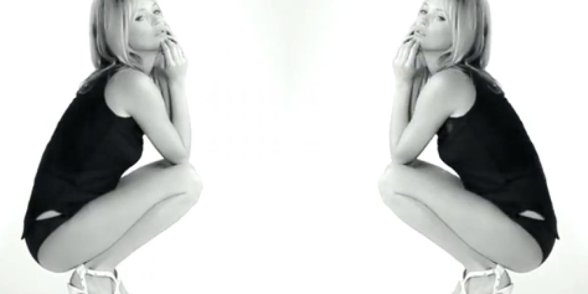 Kate Moss usa toda su sensualidad en nueva campaña de moda