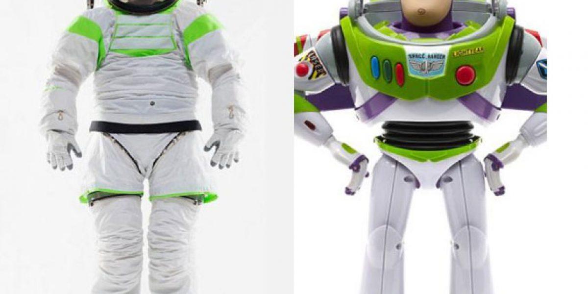 [FOTOS] La Nasa presenta sus nuevos trajes inspirados en Buzz Lightyear