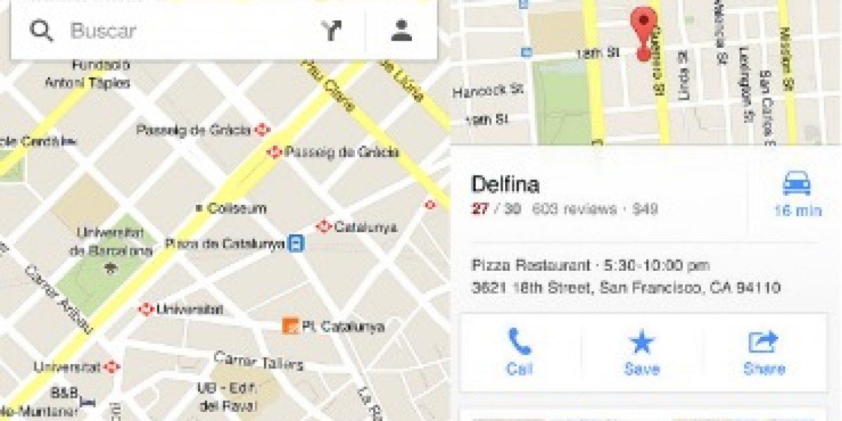 TECNOLOGÍA: Volvió Google Maps para iOS