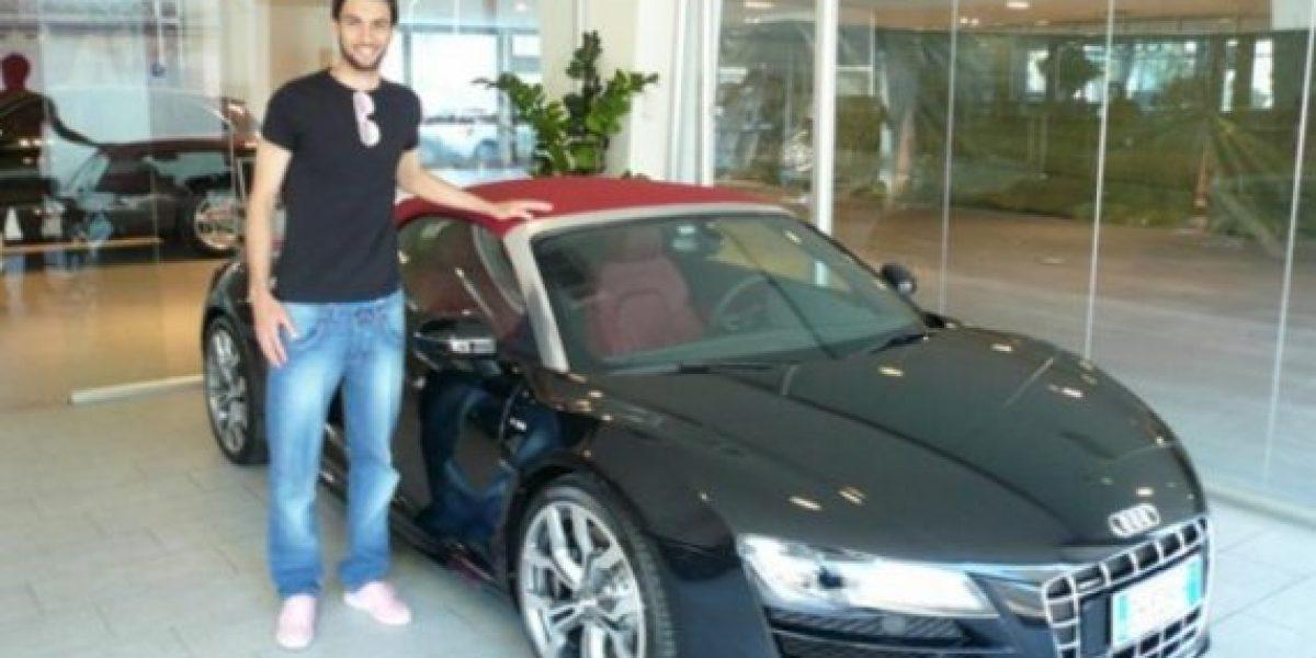 Javier Pastore estrella su Audi R8 a propósito