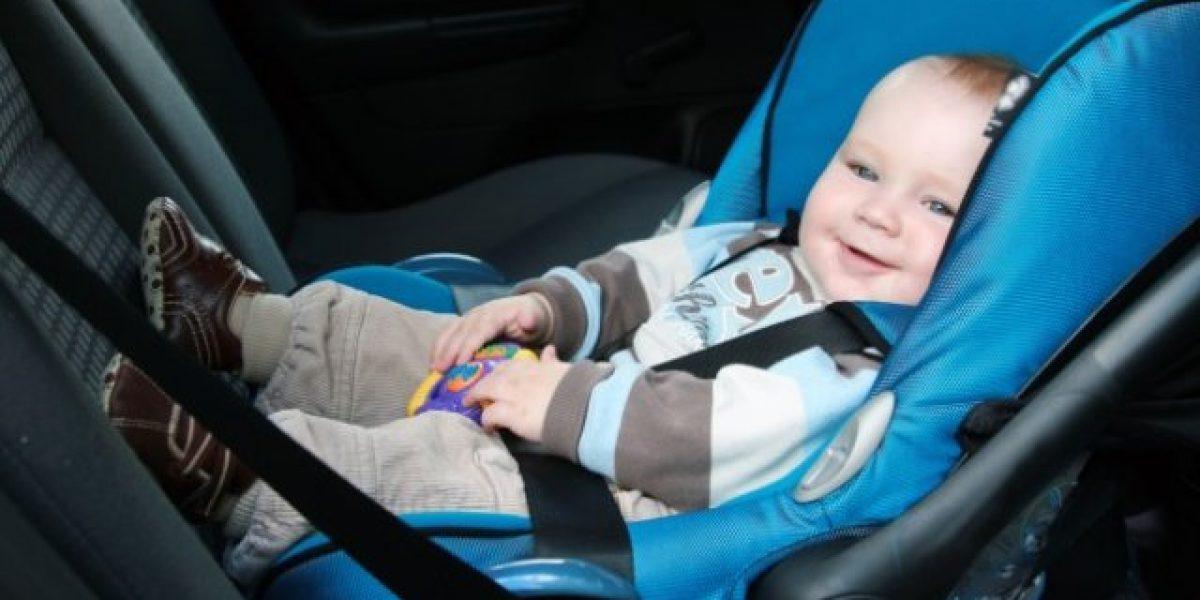 Estudio del SERNAC revela carencias en las sillas de niños para auto