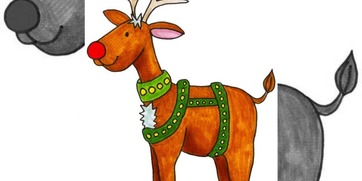 Estudio explica posible razón del color rojo de la nariz de Rudolph el reno