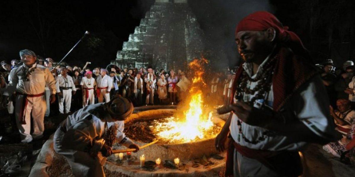 Con fuego los Mayas recibieron la nueva era lejos de profecías apocalípticas