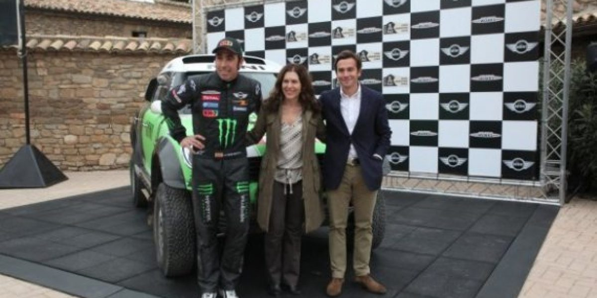 FOTOS:Nani Roma y MINI se unen para el Dakar 2013