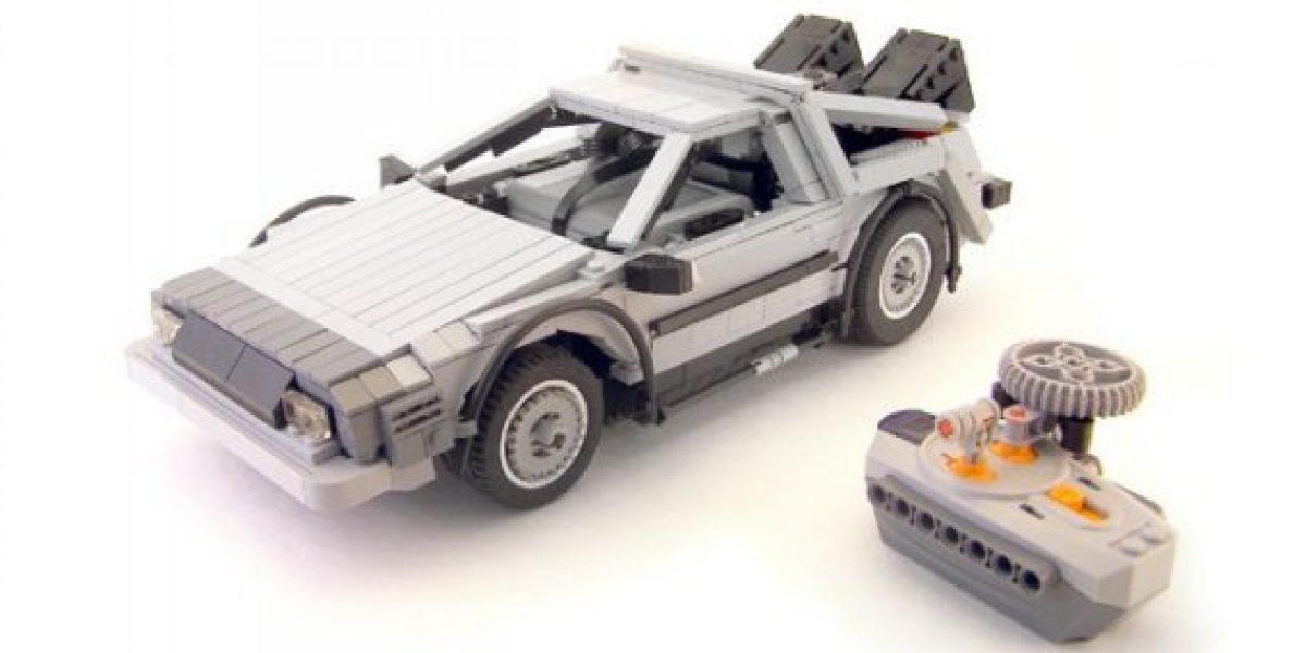 Lego comercializará versión armable del DeLorean