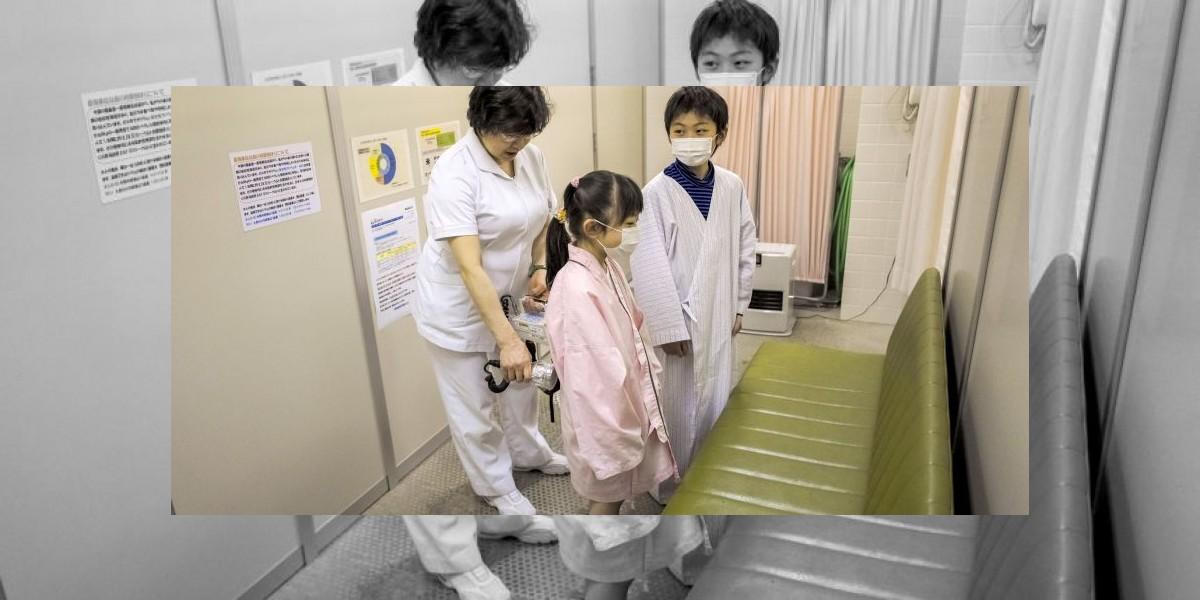 Niños de Fukushima engordan por miedo a la radiación