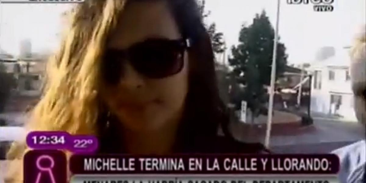 Michelle Carvalho termina en la calle y llorando tras fuerte pelea con Menares