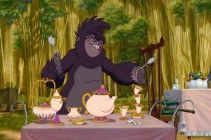 La Señora Potts en Tarzan Foto: dailypix.me. Imagen Por: