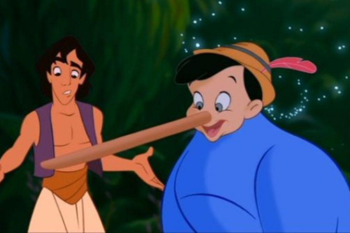 Pinocho con Aladdin Foto: dailypix.me. Imagen Por: