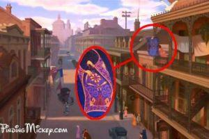 La alfombra voladora de Aladdin en La princesa y el sapo Foto: dailypix.me. Imagen Por: