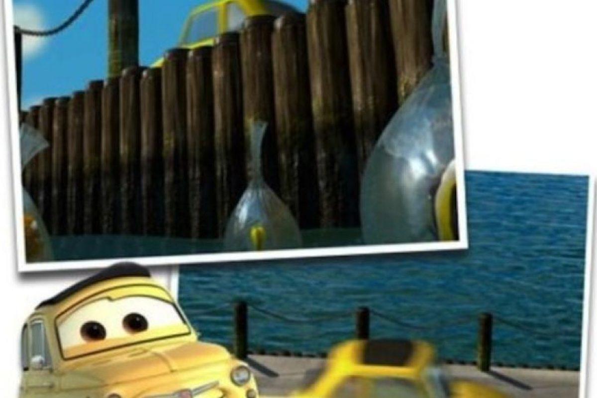 Luigi, de Cars en Buscando a Nemo Foto: dailypix.me. Imagen Por: