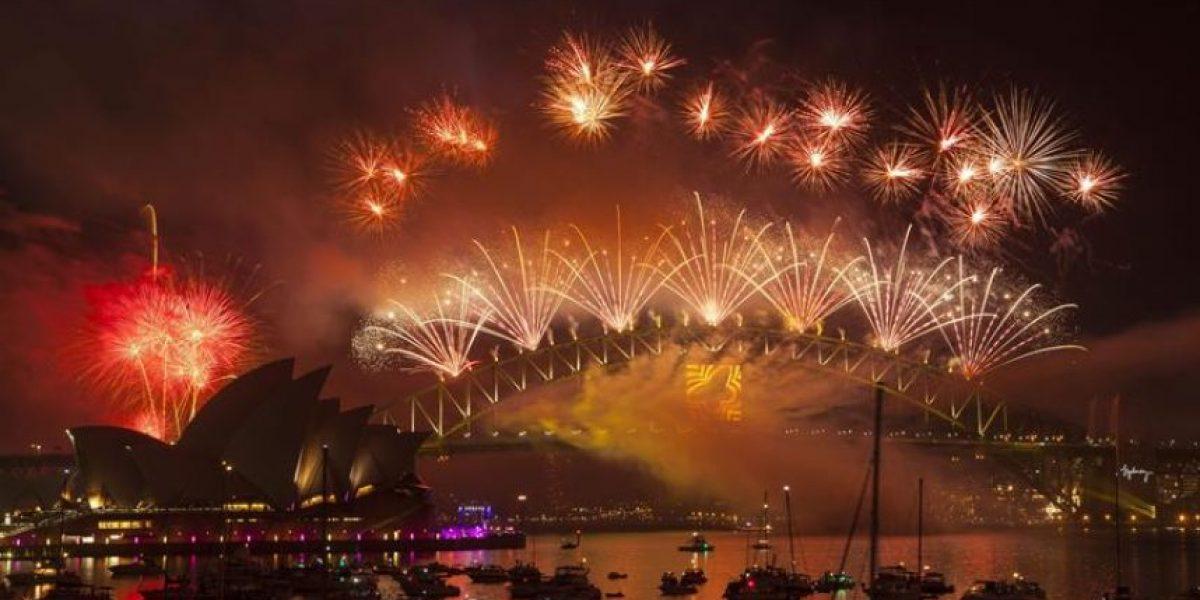 Fotos del espectacular show de Año Nuevo en Sidney