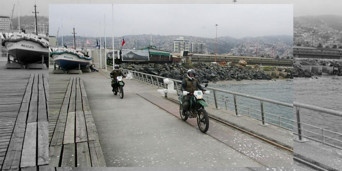 Más de 10 mil carabineros resguardan seguridad en  Valparaíso por Año Nuevo
