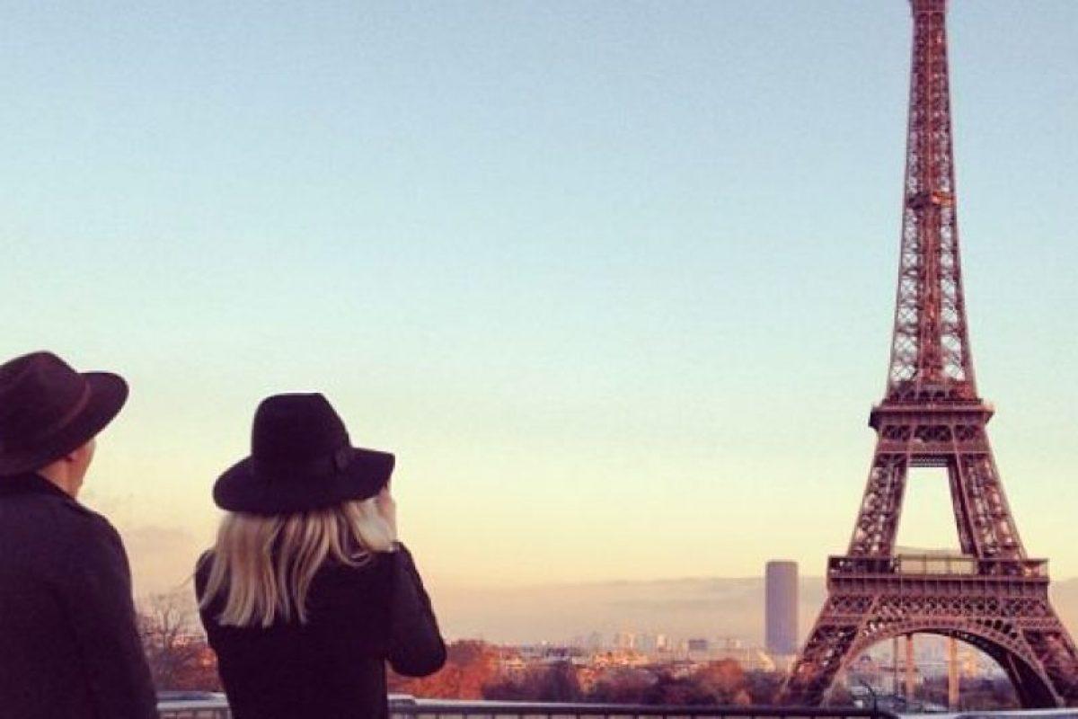Torre Eiffel, París, Francia Foto: Instagram. Imagen Por: