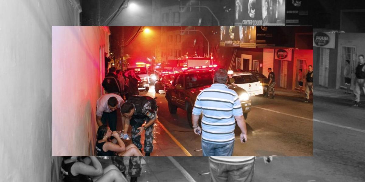 Rectifican en 232 los fallecidos en incendio en Brasil