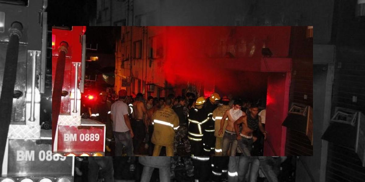 Tragedia en Brasil: Discoteca incendiada dice que su personal es