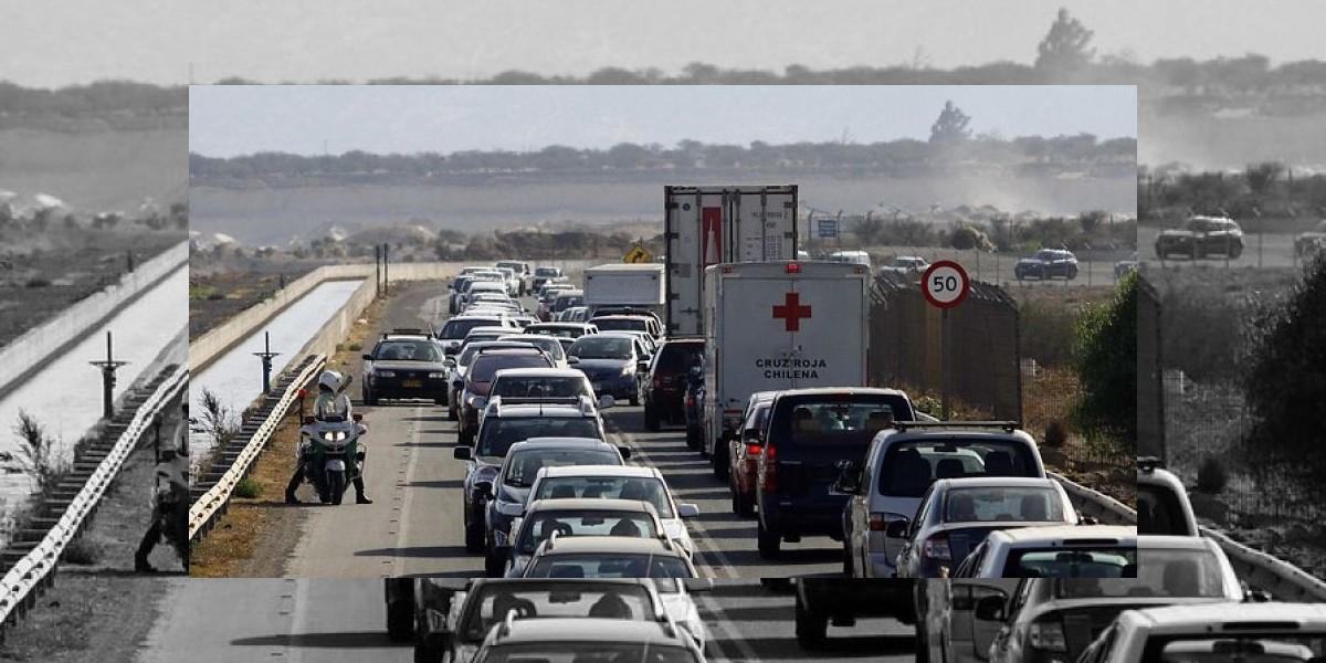 Unos 190 mil vehículos saldrán el fin de semana de la capital por el recambio de veraneantes