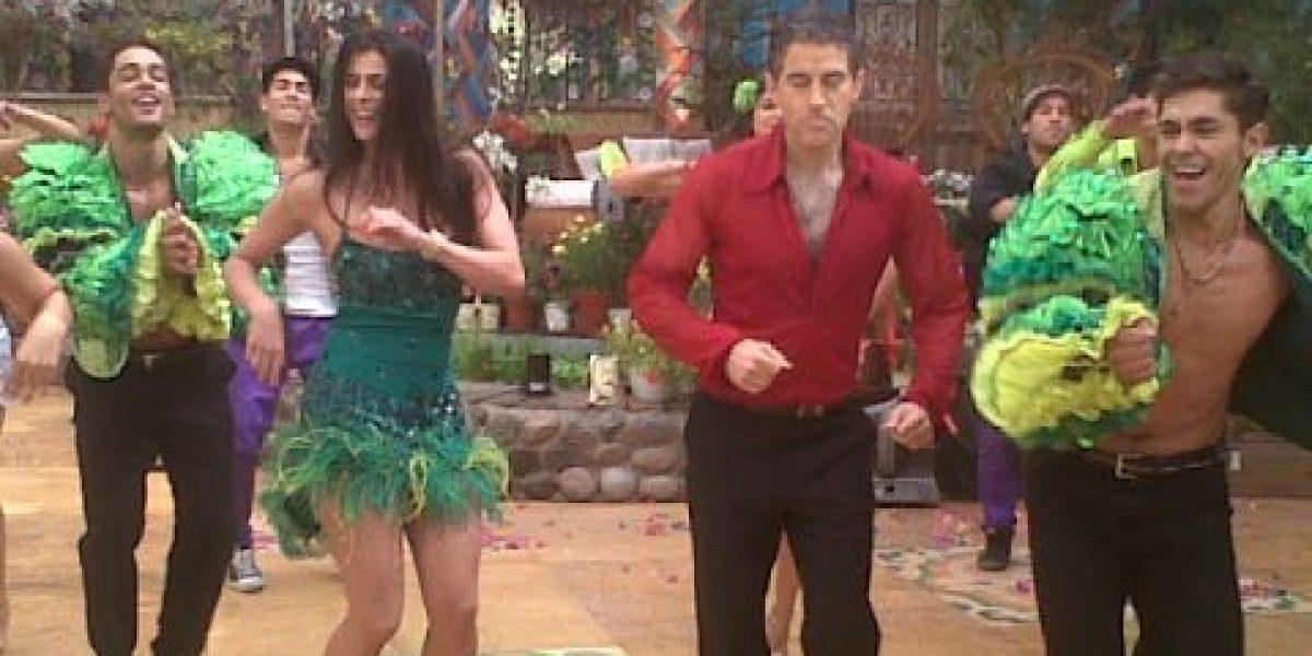 Tonka y Polo se lucen bailando salsa en