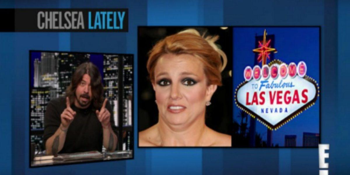 Dave Grohl en picada contra Britney: