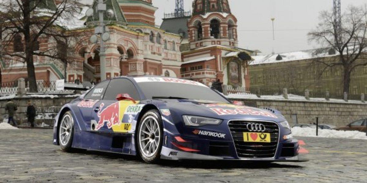 Audi A5 DTM es presentado en la Plaza Roja de Moscú