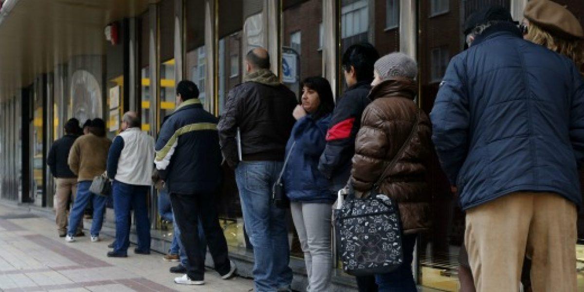 Desempleo en la Ocde permaneció estable en 8% durante diciembre