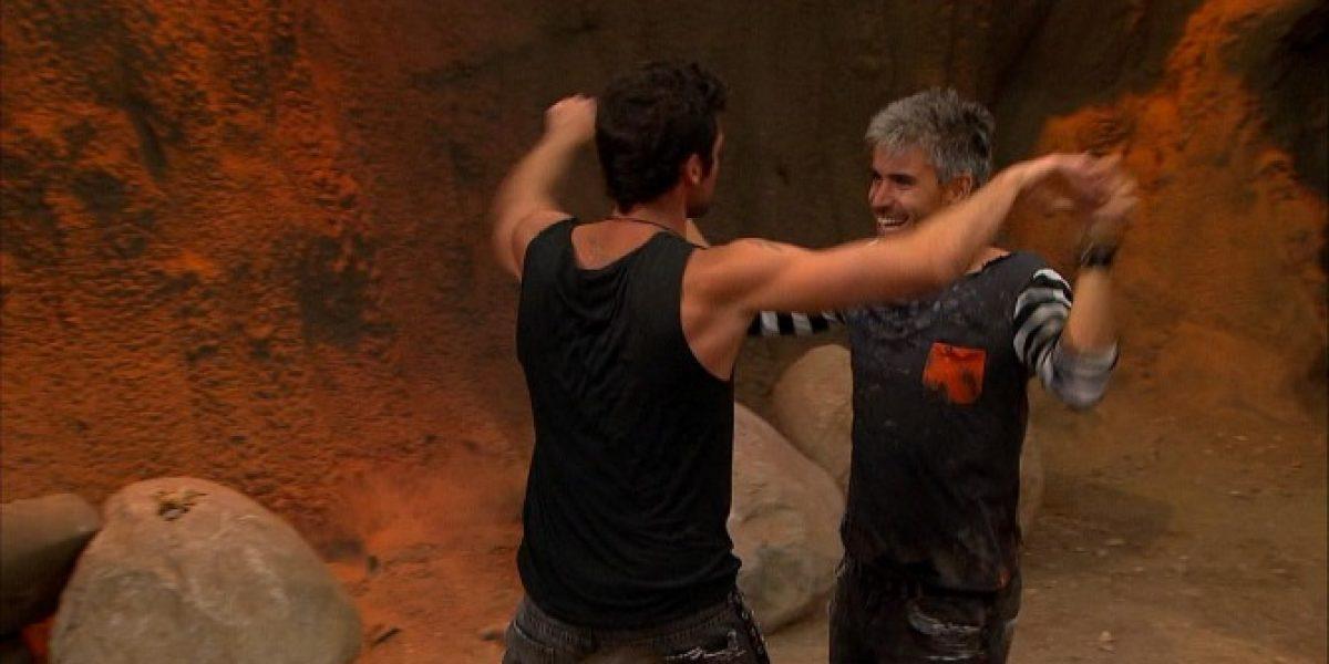Casi se van a las manos: Damián le juega pesada broma a Diego