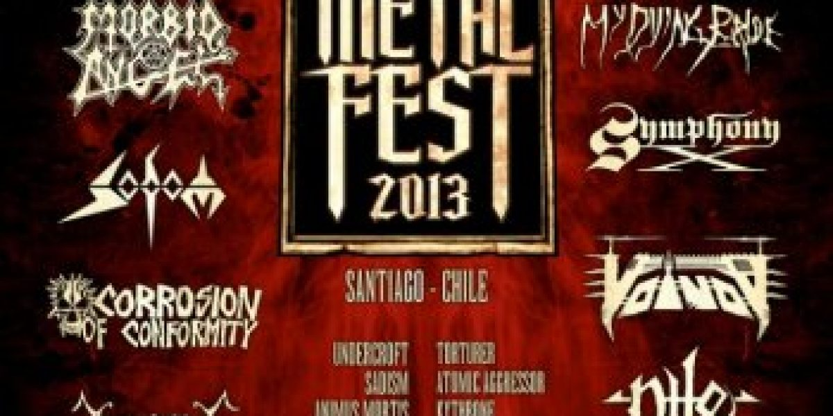 The Metal Fest 2013 anuncia su cartel completo con Twisted Sister