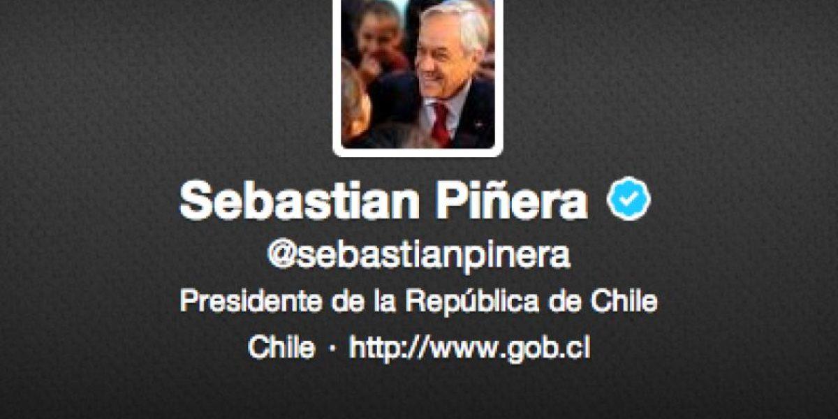 Presidente Piñera saluda a todos los enamorados mediante su cuenta Twitter